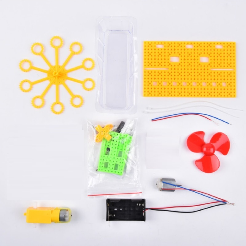 Science Kits DIY Electric Bubble Machine STEM Toys Kids Science Assembly Educational Learning Kit School STEAM Projects