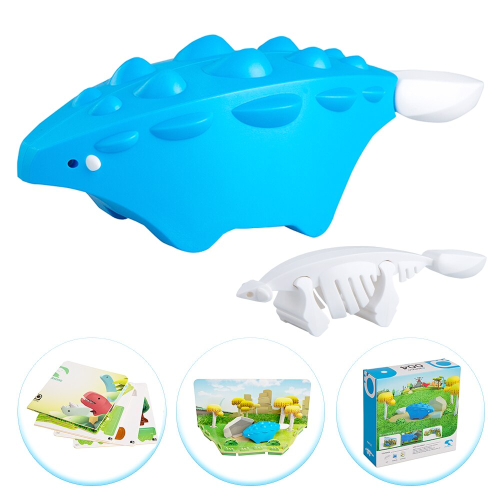 3-D Puzzle with Magnets and Paper Educational Toy