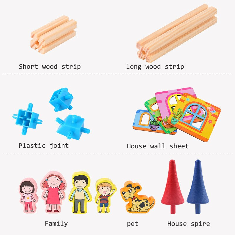 Wood Game Learning Educational Toys
